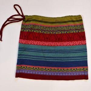 Icelandic Designs Sweater Knit Mini Skirt